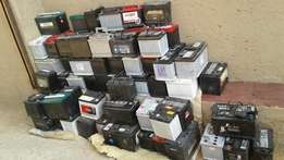 Used batteries from R450