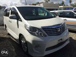 Toyota Alphard (Leather Interior /double sunroof)