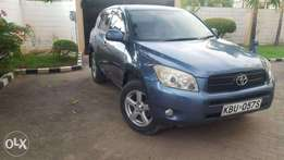 Toyota RAV4 Year 2006 Model Automatic 4WD Blue Color Ksh 1.39M