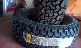 Tyres Bf GoodRich 275/65/17 with Special Offers