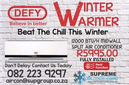 Beat The Chill This Winter - Aircon Special