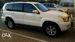 Toyota Prado 2008 with a lot of extras excellent condition for sale