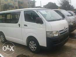 Foreign used 2007 Toyota hiace bus