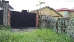 Bungalow occupying 800 square meter at amuwo