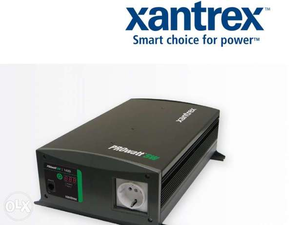 Xantrex 1400Watt inverter from 12v to 220v