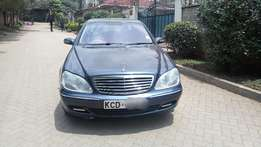 Mercedes Benz S class Ex Government S350 petrol W220 fully loaded ful