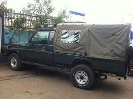 Quality Land Cruiser Canvas cover