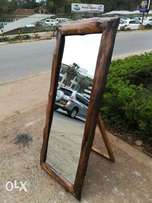 Natural mirror frame. 5ft height. Self made