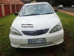 2005 Toyota Camry XLi 2.4 A/T Sedan with the following km's 220968