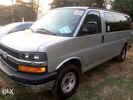 Chevrolet express bus for quick sale