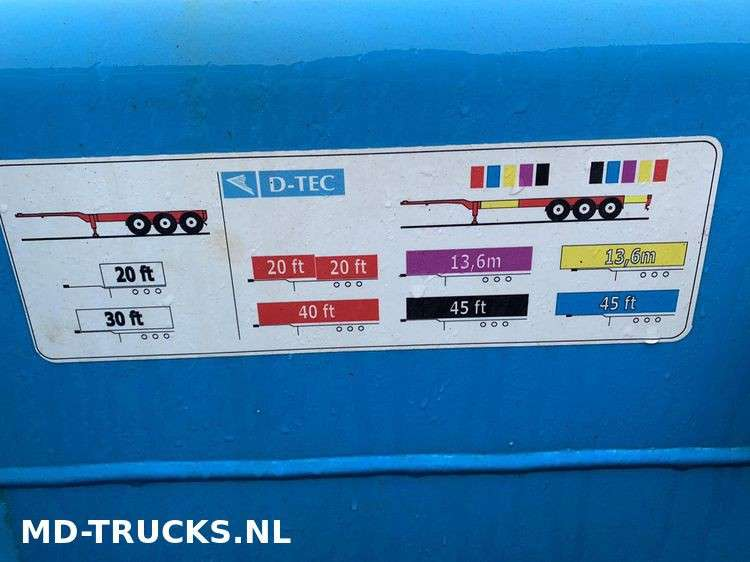 Broshuis D-Tec container chassis multi - 2007 - image 6