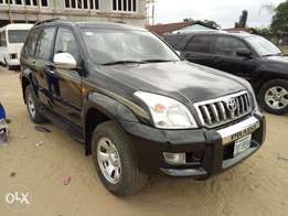 Very clean Reg 2007 Toyota Prado with 4 plugs
