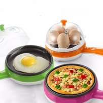 2 in one Egg Boiler and fryer with a nonstick pan