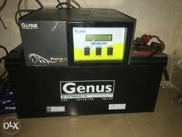 Inverter and battery For sale last more than 12 hours