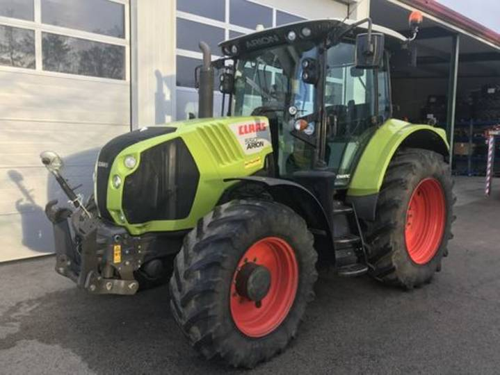 Claas arion 550 cmatic - 2015 - image 2