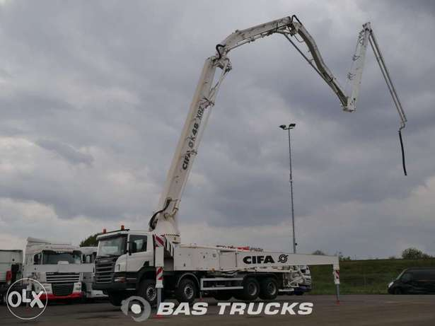 Scania P380 Cifa 48m. Boom - To be Imported Lekki - image 8