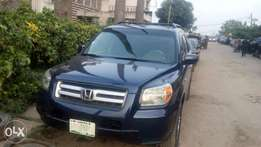 Registered Honda pilot 2006 model
