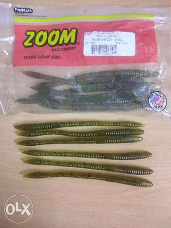 ZOOM soft bait WORMS for sale BD 3 only from USA