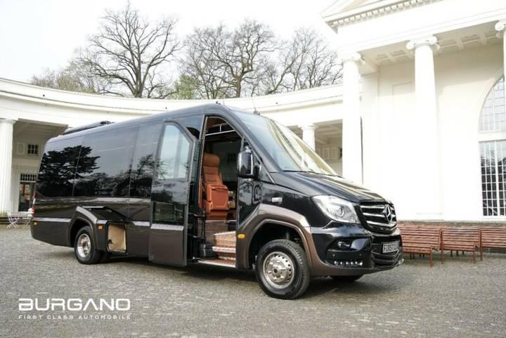 Mercedes-Benz Sprinter 519 4x4 Luxury First Class Van 319 Vip - 2018