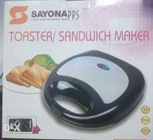 Sandwich maker with toaster Quick Sale
