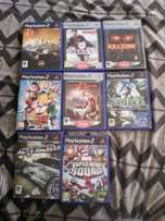 PS 2 set of games some are scratched but still work