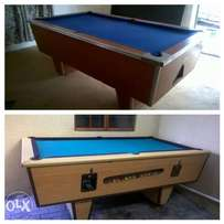 pool tables for sale and coin operated