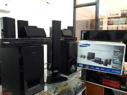 Bluetooth enabled Samsung 5.1 channel 1000watts DVD home theatres