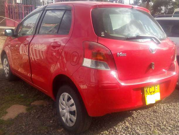 Price Sliced Down,1300cc Toyota Vitz Newly Imported Just arrived Nairobi CBD - image 2