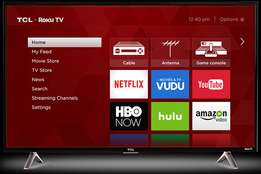 "TCL - 32"" - LED - 720p - Smart - HDTV Roku TV"