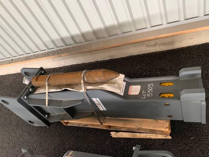 Hammer Hm 1500 Hydraulhammare 79000:-+m - 2019