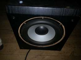 """Home theatre . With 10""""powerful sub .add on ta make any hifi ,etc loud"""