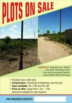 Plots selling in North Coast