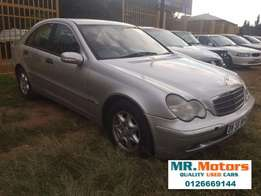2002 Mercedes Benz C180 A/T For Sale
