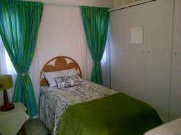Furnished garden unit available immediately