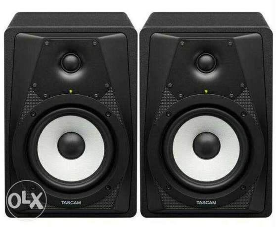 tascam vl-s5 studio monitors 60 watt 5 inch brand new
