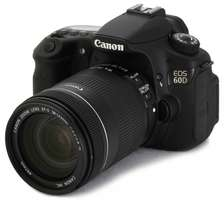 Canon 60D and 18-135mm camera lens