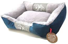 Dog's Life - Waterproof Modern Swirl Winter Bed Extra-Large R430