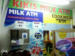 Milk and Oil Atm