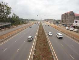 Kahawa Wendani Commercial Plot for sale. On Thika Super Highway.