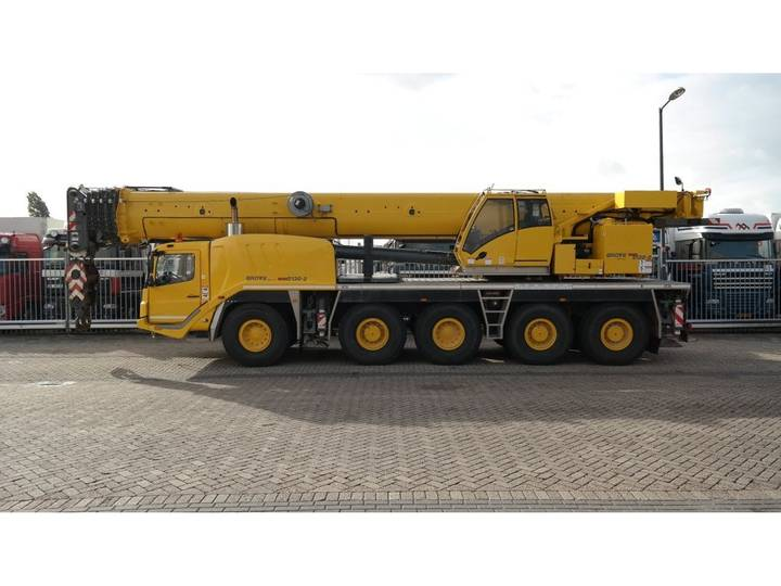 Grove GMK 5130-2 10X6X10 JIB AND TILT CABINE - 2013