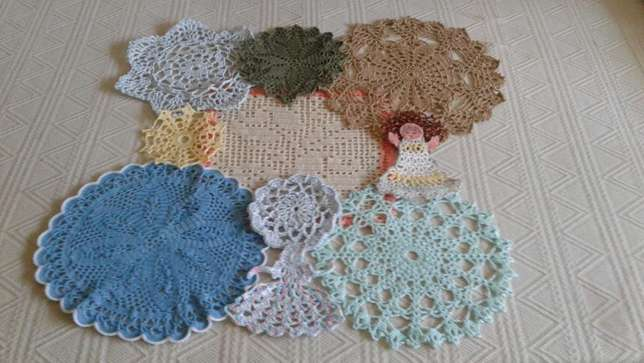 Embroidered Cushion, Doilies & Cloths. Benoni - image 2