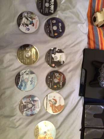 Play Station 3 from America for sale with 11 games & 3 remotes Langata - image 4