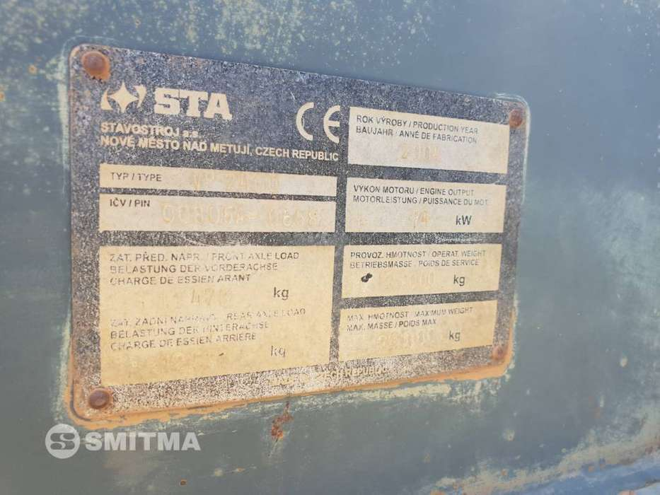 Stavostroj VP 2400 • SMITMA - 2007 for sale | Tradus