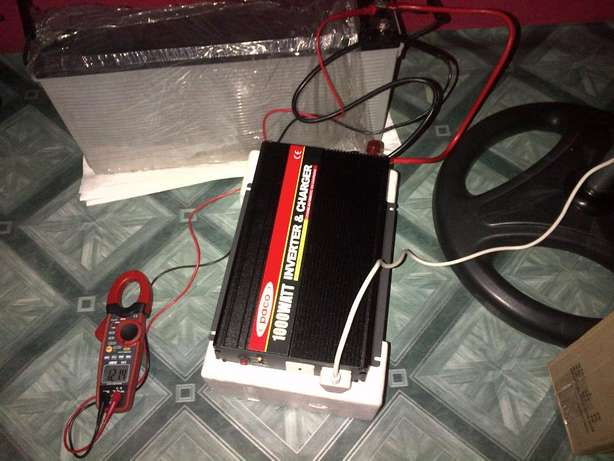 1000Watts/1.250KVA Inverter low Cost and Reliable Lagos Mainland - image 1