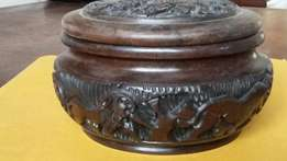 Beautifully carved out quality pot ornament-Amalinda-East London