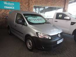 2012 Volkswagen Caddy 2.0 TDi (81kW) Panel Van,