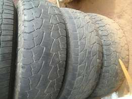 Hankook dynapro 15 inch tyres and rims 50% THREAD