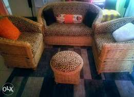 4Seater Makuti +1Footrest