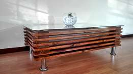 Modern Oak Colour Coffee Table