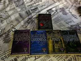 Full Book set of Beautiful Creatures + First Book of Dangerous Creatur